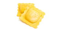 Ravioli mit Käse-Spinat Füllung