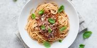 Spaghetti Bolognese (mit Schmand)