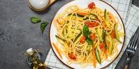 Rüben-Tomaten-Pasta