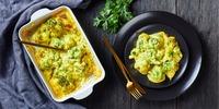Tortelloni Auflauf mit Brokkoli