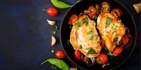 Geflügel-Tomatenpfanne
