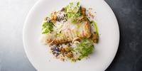 Fisch-Gemüse-Pfanne mit Kokosmilch