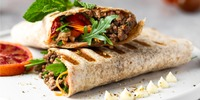 Low-Carb Rolle mit Hack