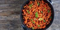 Karotten-Haselnuss-Salat mit Hack
