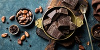 Zartbitterschokolade Snack