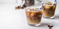 Kokos - Eiskaffee Low Carb