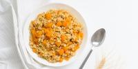 Grapefruit-Orangen Porridge mit wärmenden Gewürzen
