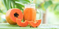 Papaya-Grünkohl-Superfood-Smoothie