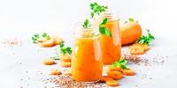 Aprikosen-Möhren Booster Smoothie