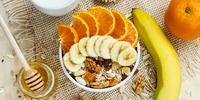 Amaranth-Müsli mit frischem Obst