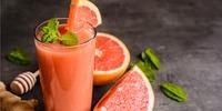Möhren-Grapefruit Smoothie