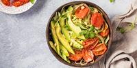 Avocado-Zucchini-Sommersalat