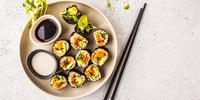 Sushi-Rolls mit Quinoa und Roter Bete