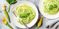 Zucchini-Spaghetti Aglio e Olio