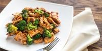Hähnchengeschnetzeltes mit Brokkoli