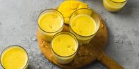 Schneller Mango-Honig-Lassi