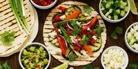 Tortilla mit Gemüse