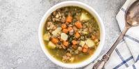 Kartoffel-Linsen-Suppe