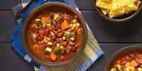 Chili sin Carne-Bowl