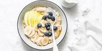 Bananen-Apfel-Zimt Porridge