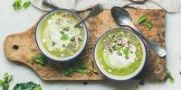 Scharfe Brokkoli-Kokos Suppe
