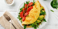 Avocado-Tomaten-Rührei