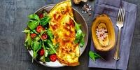 Schneller Protein-Salat mit Ei